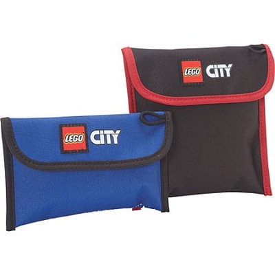 Carry Gear Solutions Lego City Police and Fire 2-piece Lunch Pocket Set