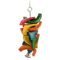 Mac's Creatures and Critters Quality Natural Bird Toy