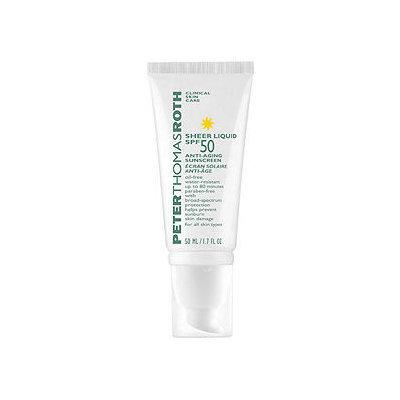 Peter Thomas Roth Sheer Liquid Spf 50 Anti-Aging Sunscreen