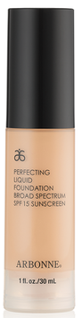 Arbonne Perfecting Liquid Foundation SPF 15 Sunscreen