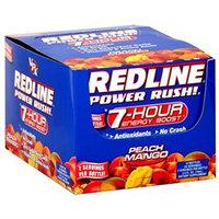Redline Pwr Rush Peach 2.5 Oz By Vpx Sports (12 Per Box)