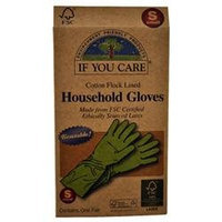 If You Care, Household Gloves, Reusable, Small, 1 Pair