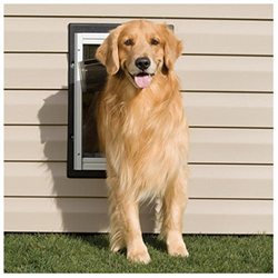 Pet Safe PetSafe PPA11-10917 Aluminum Wall Entry Pet Door - Large