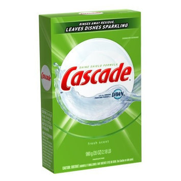 Cascade Powder Dishwasher Detergent, Fresh Scent, 35 Ounce