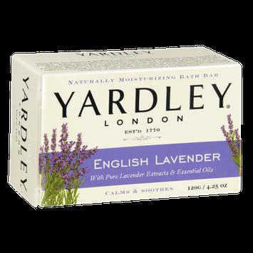 Yardley London English Lavender Naturally Moisturizing Bath Bar