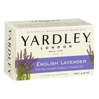 Yardley London English Lavender Naturally Moisturizing Bath Bar