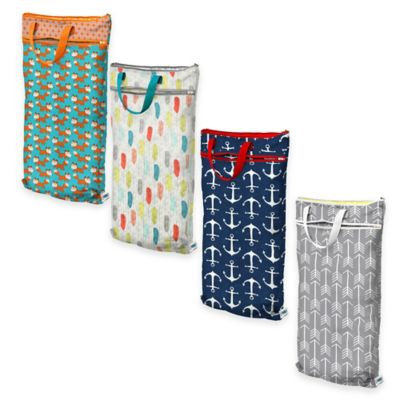 Planet Wise Hanging Wet/Dry Bag Overboard Twill - Planet Wise Diaper and Baby Accessories
