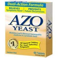 Azo Naturals Natural Yeast 60 tab