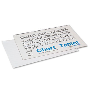 Pacon PAC74620 Ruled Chart Tablets