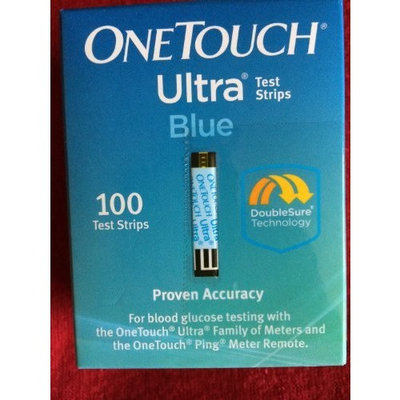 OneTouch Ultra One Touch Ultra 100 count or two boxes of 50 count