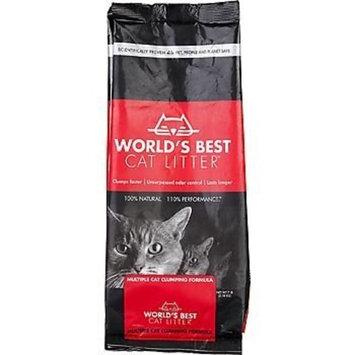 World's Best 00631 Cat Litter, Multiple Cat Clumping Formula