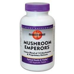 Mushroom Wisdom, Grifron Mushroom Emperors 120 Capsules