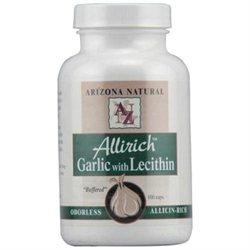 Arizona Natural Resource Allrich Odorless Garlic with Lecithin 100 Capsules