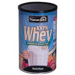 100% Whey Protein Vanilla 24 oz powder from Naturade