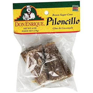 Melissa's Piloncillo Brown Sugar Cone, 6-Ounce Bags (Pack of 12)