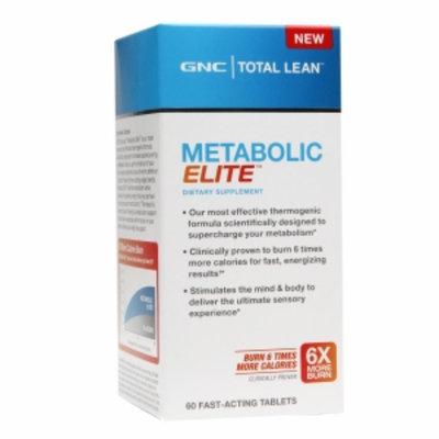 GNC Total Lean Metabolic Elite, Tablets, 60 ea
