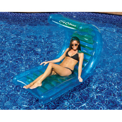 Splashnet Xpress Swimline Cozy Cabana 56-in Inflatable Pool Lounger