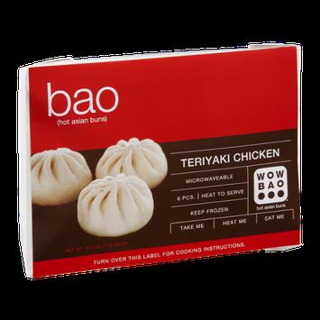 Wow Bao Hot Asian Buns Teriyaki Chicken