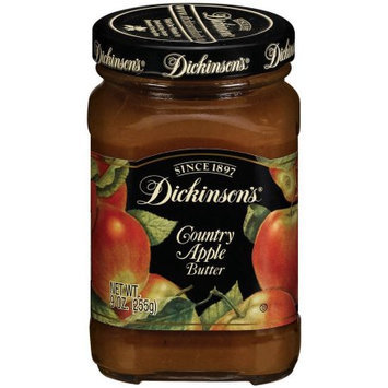 Dickinsons Country Apple Butter, 9 OZ (Pack of 6)
