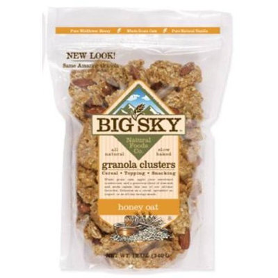 Big Sky Granola Honey Oat, 12-Ounce Pouches (Pack of 6)