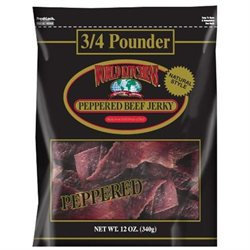 World Kitchens Beef Jerky, Peppered, 2 pk