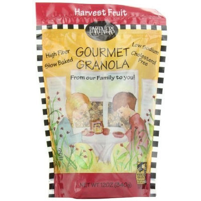 Partners Harvest Fruit Gourmet Granola, 12-Ounce Pouches (Pack of 6)