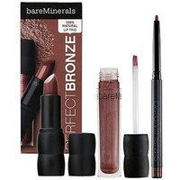 Bare Escentuals Perfect Bronze 100% Natural Lip Trio ($41 Value) Perfect Bronze 100% Natural Lip Trio