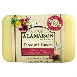 A La Maison Bar Soap Thousand Flowers - 8.8 oz