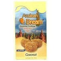 Andean Dream 64335 Quinoa Coconut Cookies Gluten Free