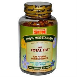 Health From The Sun 100% Vegetarian The Total EFA