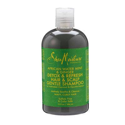 SheaMoisture African Water Mint & Ginger Detox & Refresh Hair & Scalp Gentle Shampoo