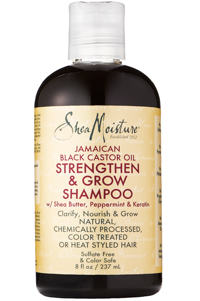 SheaMoisture Jamaican Black Castor Oil Strengthen & Grow Shampoo