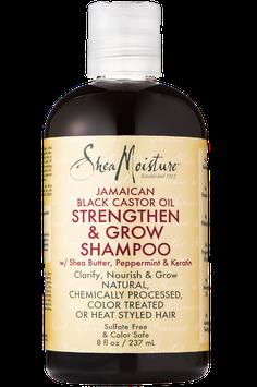 SheaMoisture Jamaican Black Castor Oil Strengthen & Grow Shampoo