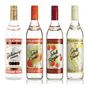 Stolichnaya (Stoli) Vodka