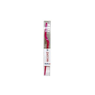 Fuchs - Record V Nylon Bristle Toothbrush Adult Soft