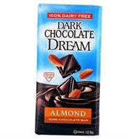 DREAM BAR Almond Dark Chocolate Bar 3 OZ
