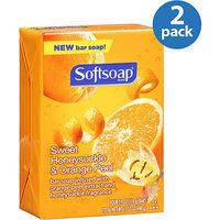 Softsoap® Bar Soap, Sweet Honeysuckle and Orange Peel