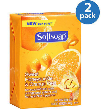 Softsoap Sweet Honeysuckle & Orange Peel Bar Soap