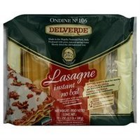 Del Verde Pasta Lasagne W Tray -Pack of 10