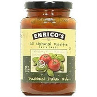 Enrico's Enricos Traditional Pasta Sauce No Salt Added - 15.5 oz