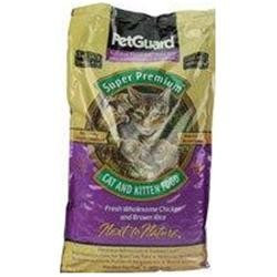 PetGuard Premium Cat & Kitten Dry Food - Fresh Chicken