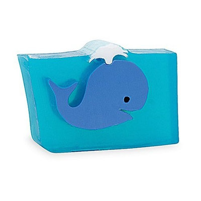 Primal Elements Wrapped Bar Soap, Blue Whale, 6.0-Ounce Cellophane