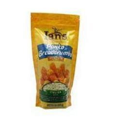 Ian's Natural Foods Panko Breadcrumbs Italian Style - 9 oz