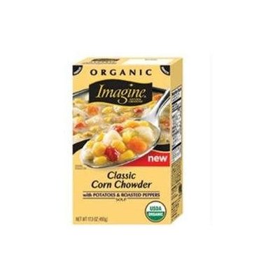 Imagine Foods B01462 Imagine Foods Corn Chowder Classic -12x17.3oz