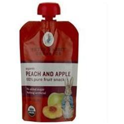 Peter Rabbit Organics Pure Fruit Snack Peach and Apple - 4 oz