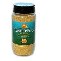 Premium Gold Flax Products - Dash O'Flax Pre-Ground Golden Flax Seed - 10 oz.