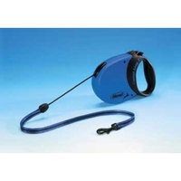 Flexi Comfort Long 26-Feet Medium Leash, 44-Pound, Blue/Black