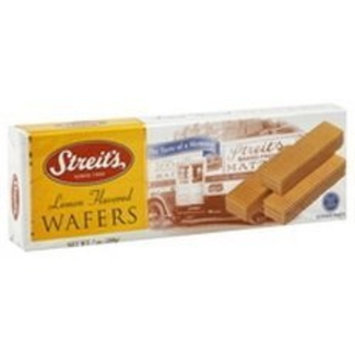 Streits Wafer, Lemon, 7-Ounce (Pack of 24)