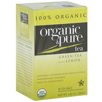 Organic & Pure Green Tea