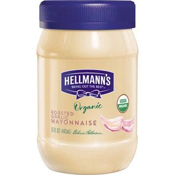 Unilever Best Foods Organic Roasted Garlic Mayonnaise, 15 oz